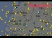 Following air flights